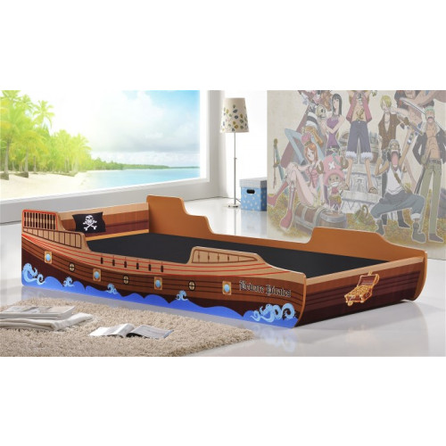 Caribbean Pirate Ship Single Bed Home Furniture